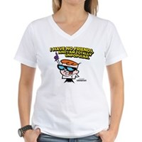 Dexter I Have No Friends Women's V-Neck T-Shirt
