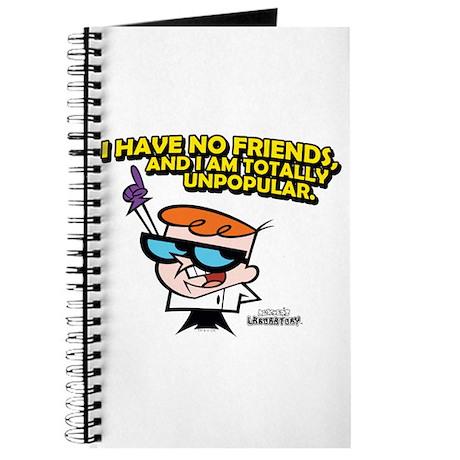 Dexter I Have No Friends Journal