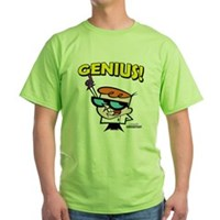 Dexter's Laboratory Genius! Green T-Shirt