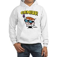 Dexter's Laboratory Genius! Hooded Sweatshirt
