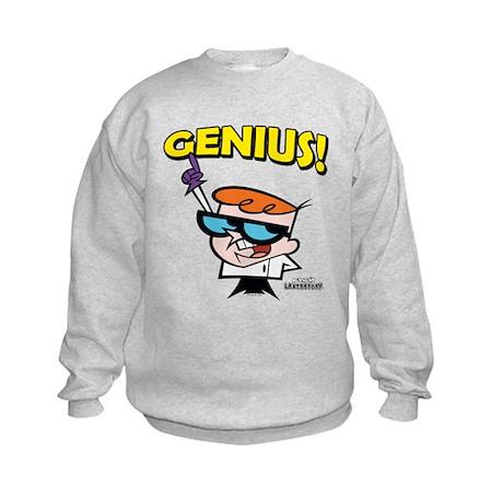 Dexter's Laboratory Genius! Kids Sweatshirt