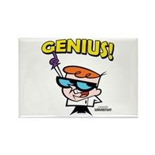Dexter's Laboratory Genius! Rectangle Magnet