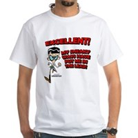 Mandark Excellent! White T-Shirt