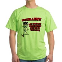 Mandark Excellent! Green T-Shirt