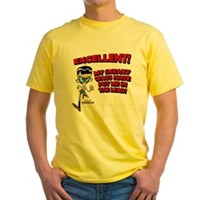 Mandark Excellent! Yellow T-Shirt