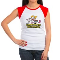 Wana See My New Dance? Women's Cap Sleeve T-Shirt