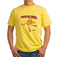 DeeDee Girlie Girl Yellow T-Shirt
