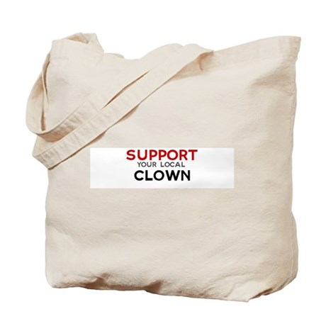Support: CLOWN Tote Bag