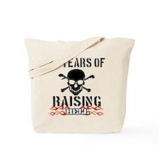 27 Years of Raising Hell Tote Bag