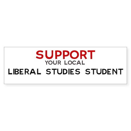 Support: LIBERAL STUDIES STU Bumper Sticker