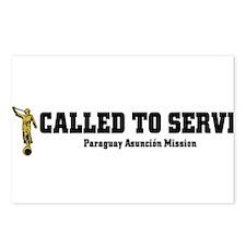 Paraguay Asuncion LDS Mission Postcards (Package o