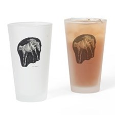 Bronco Drinking Glass