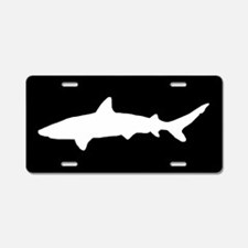 Shark SILHOUETTE Aluminum License Plate