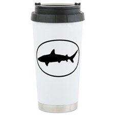 Shark SILHOUETTE Travel Coffee Mug