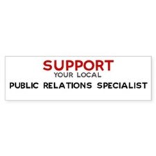 Support: PUBLIC RELATIONS SP Bumper Bumper Sticker