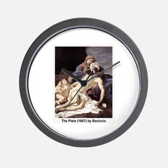 The Pieta 1667 Wall Clock
