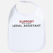 Support:  LEGAL ASSISTANT Bib