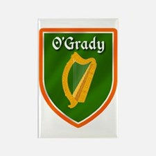 O'Grady Ancestry Crest Rectangle Magnet