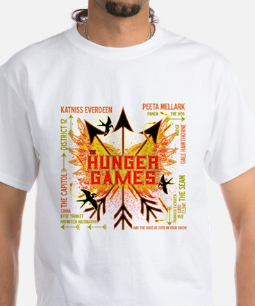 Hunger Games Gear Collective White T-Shirt