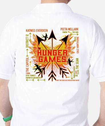 Hunger Games Gear Collective Golf Shirt
