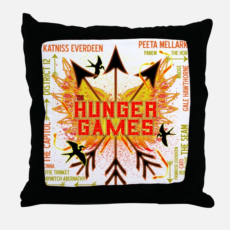 Hunger Games Gear Collective Throw Pillow