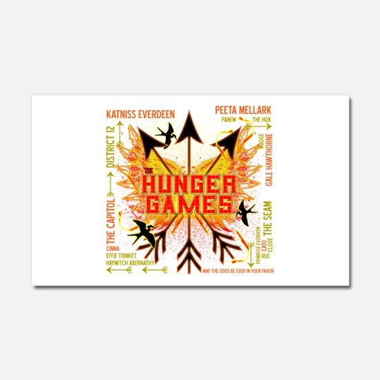 Hunger Games Gear Collective Car Magnet 20 x 12