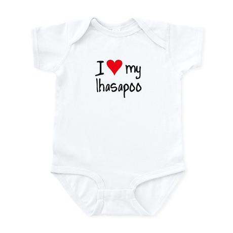I LOVE MY Lhasapoo Infant Bodysuit