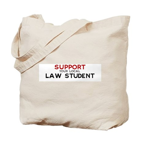 Support: LAW STUDENT Tote Bag