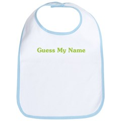 Guess My Name Bib