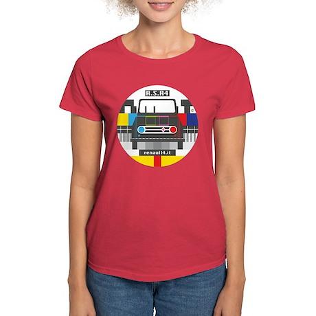 Renault 4 Retro Women's Dark T-Shirt