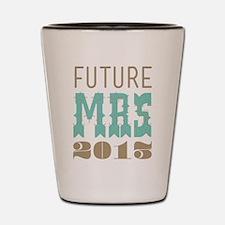 Future Mrs 2013 Cockatoo Shot Glass