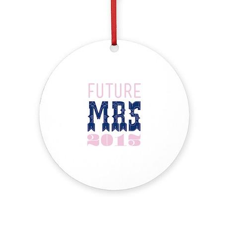 Future Mrs 2013 Lilac Ornament (Round)