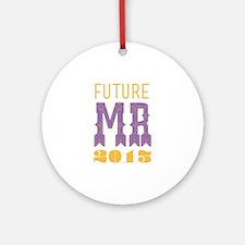 Future Mr 2013 Bellflower Ornament (Round)