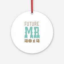 Future Mr 2012 Cockatoo Ornament (Round)