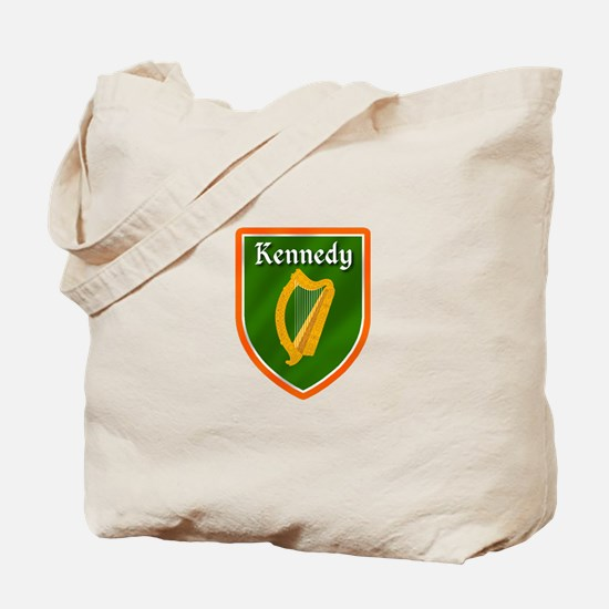 Kennedy Family Crest Tote Bag