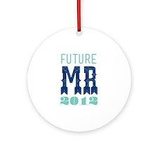 Future Mr 2012 Sodalite Ornament (Round)