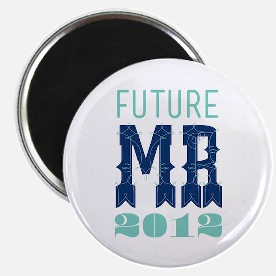 Future Mr 2012 Sodalite Magnet