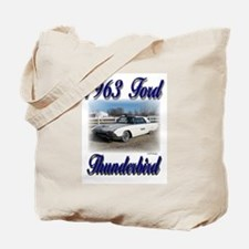 1963 Ford Thunderbird Tote Bag