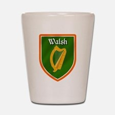 Walsh Family Crest Shot Glass