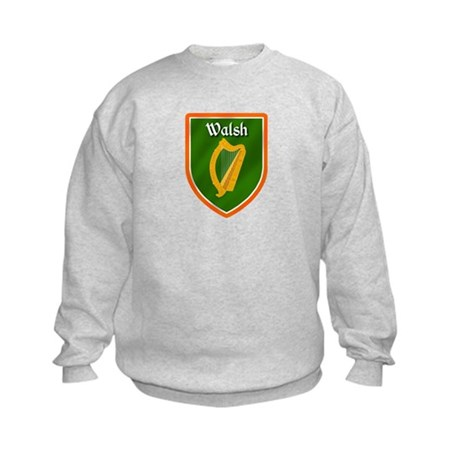 Walsh Family Crest Kids Sweatshirt