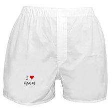 I LOVE Alpacas Boxer Shorts