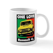 Renault 4 Love Small Mug