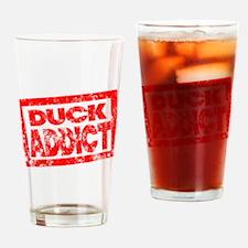 Duck ADDICT Drinking Glass
