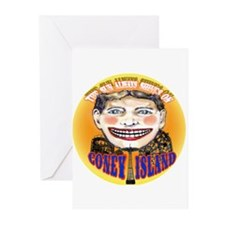 Cute Coney island Greeting Cards (Pk of 10)