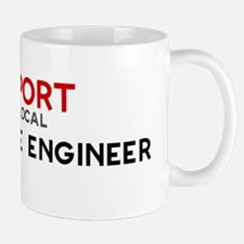 Support:  AEROSPACE ENGINEER Mug