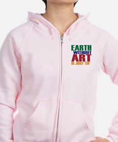 Earth Without Art Zipped Hoody