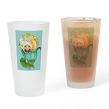 Cute King neptune Drinking Glass