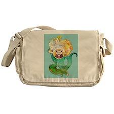 Funny King neptune Messenger Bag