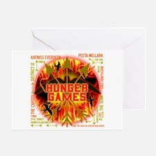 Hunger Games Highlights Greeting Card