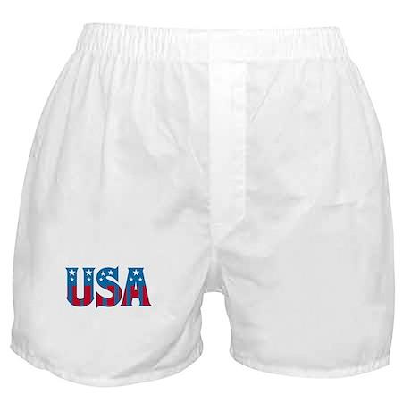 Stars and Stripes Boxer Shorts